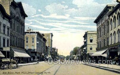 Main Street Ann Arbor MI Unused