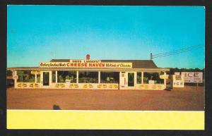 Cheese Haven Port Clinton OH unused c1950's