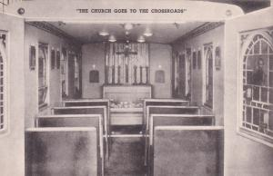 COLUMBIA, South Carolina, 1930s; Christ The King Motor Chapel