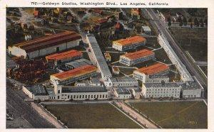 Goldwyn Studios, Washington Blvd., Los Angeles, CA, Early Postcard, Unused