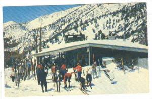 Skiers in front of The Notch, Mt.Baldy, Southern,California,40-60s