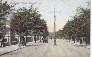 CARDIFF , Wales,  UK , PU-1906 ; Cathedral Road
