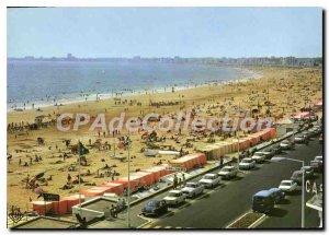 Postcard Modern Pornichet The Beach