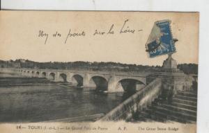 Postal 008577: Tours, Le Grand Port de Pierre
