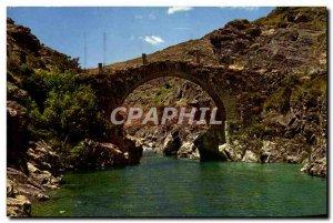 Postcard Modern Asco Le Pont Genois