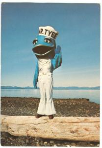 Canada, Mr. Tyee, Tyee Plaza, Campbell River, BC, unused Postcard