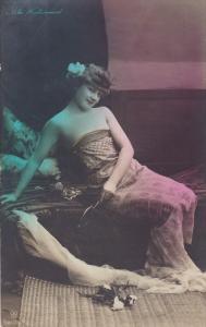 RP: [Tinted] , Asta Westergaard , 1900-10s