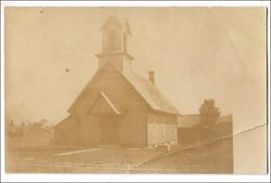 RPPC - Church or Schoolhouse       (crease)