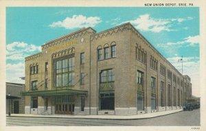 ERIE , Pennsylvania, 1900-10s ; New Union Depot