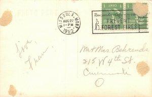 LP48  Blue Bay Flathead Lake Montana Postcard  RPPC