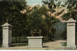 LA FAYETTE , Indiana, 1900-10s; Entrance to Indiana State Soldiers Home