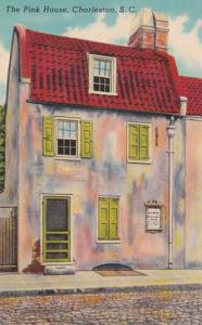 South Carolina Charleston The Pink House