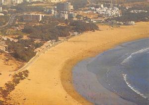 Morocco Agadir Vue generale Beach Aerial view