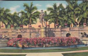 Florida Sarasota Ringling Art Museum Court Showing David Statue