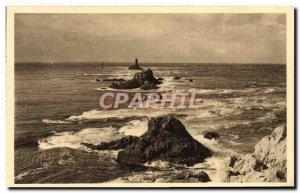 Postcard Old Pointe Du Raz De Sein The La Vieille