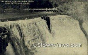 Bridal Veil, Shoshone Falls - Twin Falls, Idaho ID