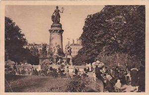 France Lyon Place Carnot Statue de la Republique 1934