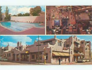 Pre-1980 LA FONDA HOTEL Santa Fe New Mexico NM W6618