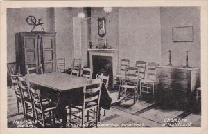 Canada Montreal Chateau de Ramsey Inteior The Hbaitant Room