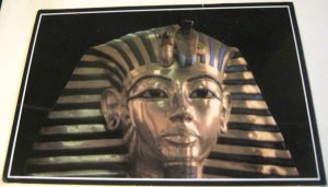 Egypt the golden mask of Tutankhamoun 41050 - posted