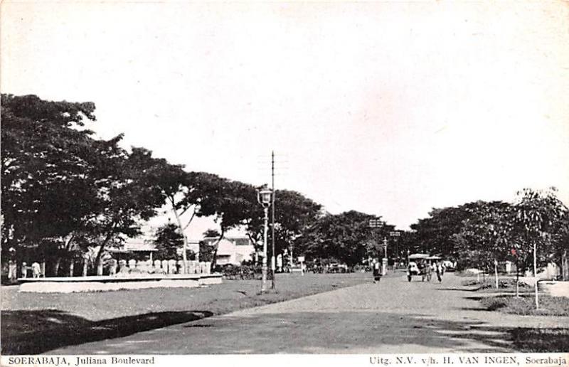 Soerabaja Indonesia, Republik Indonesia Juliana Boulevard Soerabaja Juliana B...