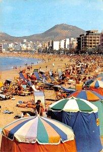 Las Palmas de Gran Canaria Playa de las Canteras Spain 1970