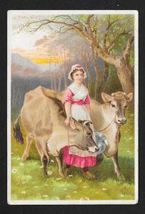 VICTORIAN TRADE CARD Jayne's Tonic The Jerseys