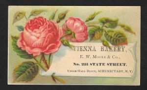 VICTORIAN TRADE CARD Vienna Bakery