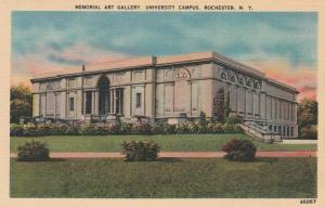 Rochester, New York - Memorial Art Gallery on University Campus - Linen