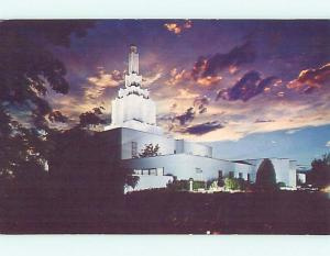Pre-1980 CHURCH SCENE Idaho Falls Idaho ID hs7528