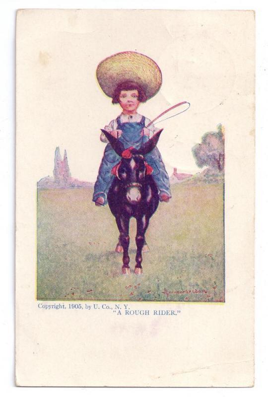Rough Rider Bernhardt Wall 1905