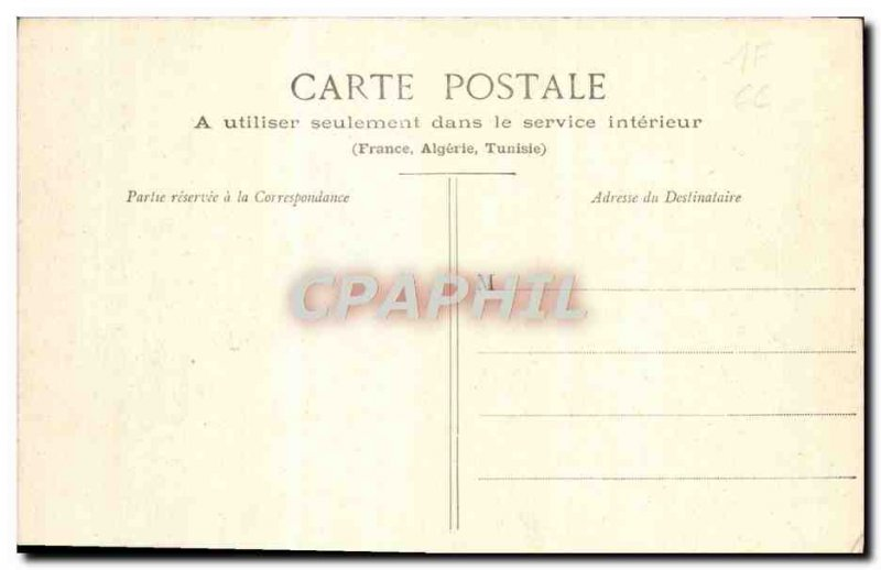 Old Postcard Dammarie Les Lys From Ruins & # 39Abbaye