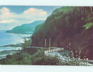 Pre-1980 TOWN VIEW SCENE Gaspe Nord Quebec QC p9863