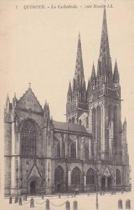 QUIMPER, La Cathedrale, Finistere, France, 00-10s