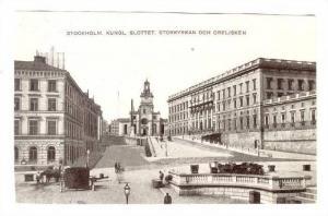Stockholm. Kungl. Slottet, Storkyrkan och Obelisken , Sweden , 00-10s