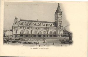 CPA Paris 12e (Dep.75) La Gare de Lyon (51936)
