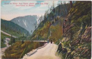 Road to SILVER BOW BASIN, Alaska, 1900-10s