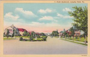 Dodd Boulevard, Langley Field, Virginia, 30-40s