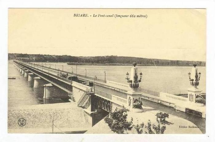 Le Pont-Canal, Briare (Loiret), France, 1900-1910s