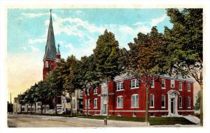 Rhode Island Pawtucket , St.Mary's Church and Rectory