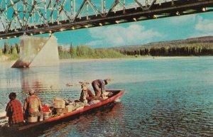 YUKON TERRITORY, Canada , 50-60s; Laird Bridge , Mile 642 Alaska Highway