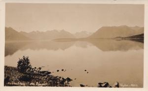 RP: LAKE BENNETT, B.C. , Canada , 1910-20s; Reflections