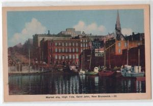 Market Slip, High Tide, Saint John NB