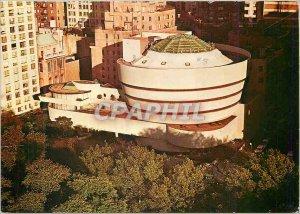 Modern Postcard Solomon R. Guggenheim Museum, Fifth Avenue New York Aerial view
