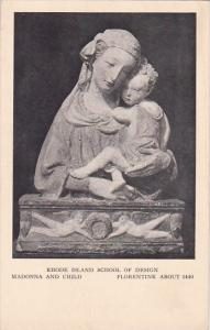 Rhode Island Providence Rhode Island School Of Design Madonna And Child