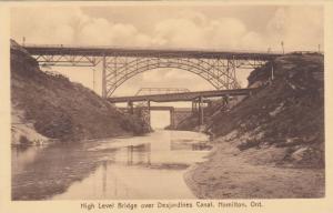 High Level Bridge over Desjardines Canal, Hamilton, Ontario, Canada 1900-10s