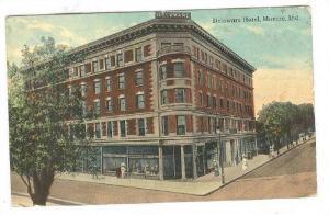 Delaware Hotel, Muncie, Indiana, PU-1918
