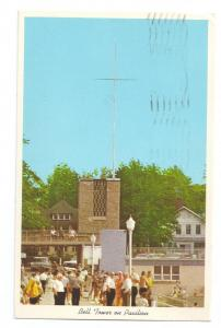Bell Tower Pavillion Lakeside on Lake Erie Ohio 1978 Chrome