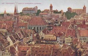 Germany Nuernberg Panoramic View