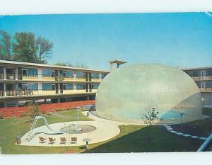 Pre-1980 MOTEL SCENE Charlotte North Carolina NC hk1918